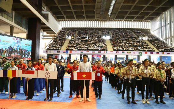 Không thể vào SEA Games, võ Việt đành hài lòng với sân chơi thế giới - Ảnh 1.