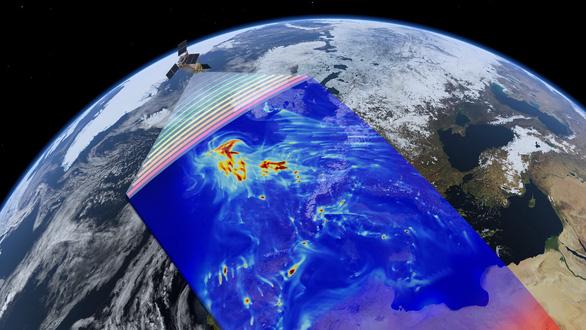 Lần đầu tiên vệ tinh phát hiện, đo được rò rỉ khí ô nhiễm - Ảnh 1.