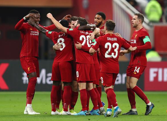 Firmino đưa Liverpool vào chung kết FIFA Club World Cup - Ảnh 1.