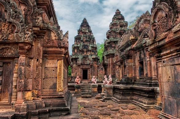 Đến Campuchia thăm thành phố cổ nghìn năm Mahendraparvata - Ảnh 1.