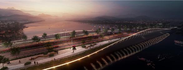 Lấy ý kiến 3 phương án thiết kế cầu vượt sông Hương lần 3 - Ảnh 1.