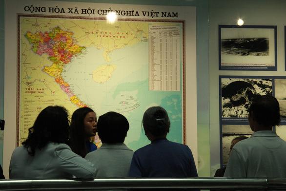 Nhà trưng bày Hoàng Sa thành điểm du lịch - Ảnh 3.