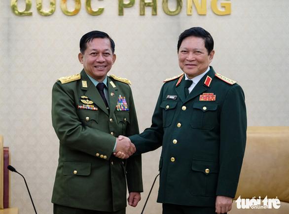 Bộ trưởng Ngô Xuân Lịch: Mong Myanmar ủng hộ khi Việt Nam là chủ tịch ASEAN - Ảnh 1.