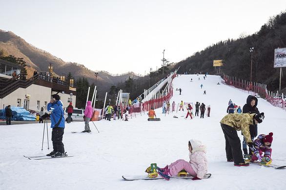 Tận hưởng mùa tuyết xứ Hàn - Ảnh 3.