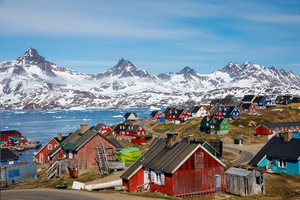 Dan Mach cho phep My mo lanh su quan tai Greenland