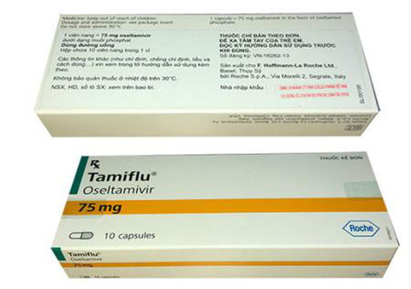 Dịch cúm gia tăng, nhiều bệnh viện hết sạch thuốc Tamiflu - Ảnh 1.