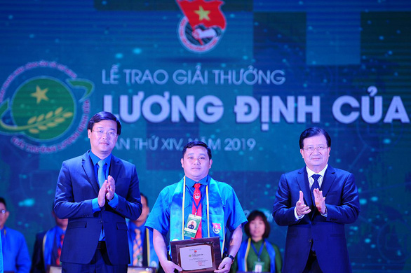 34 nhà nông trẻ nhận giải thưởng Lương Định Của năm 2019 - Ảnh 1.