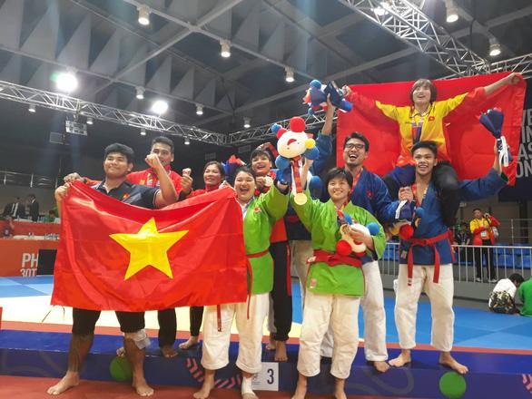 Nữ võ sĩ kurash Thanh Thủy phải tăng gần 20kg để giành HCV SEA Games 30 - Ảnh 2.