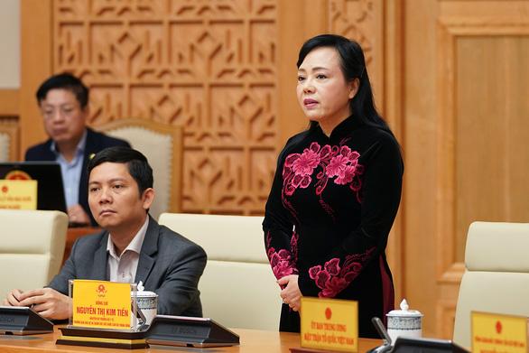 Chính phủ chia tay nguyên bộ trưởng Nguyễn Thị Kim Tiến - Ảnh 2.