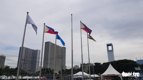 Trận đấu giữa U22 Việt Nam và U22 Singapore có bị hoãn do bão Kammuri? - Ảnh 1.