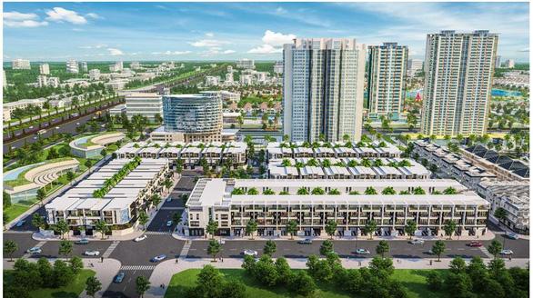 Đông Tăng Long - An Lộc: Nhà phố xanh đầy đủ tiện ích - Ảnh 1.