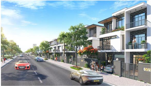 Đông Tăng Long - An Lộc: Nhà phố xanh đầy đủ tiện ích - Ảnh 2.