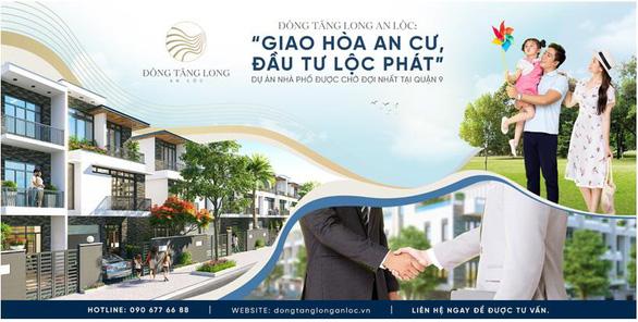 Đông Tăng Long - An Lộc: Nhà phố xanh đầy đủ tiện ích - Ảnh 5.