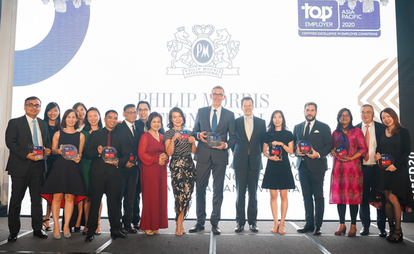 PMI liên tiếp đạt danh hiệu 'Nhà tuyển dụng hàng đầu toàn cầu' - Ảnh 1.