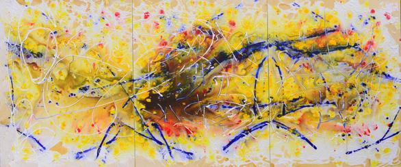 Xèo Chu - Thần đồng hội họa Việt được ví như danh họa Pollock - Ảnh 4.