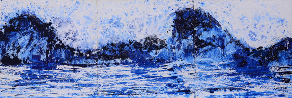 Xèo Chu - Thần đồng hội họa Việt được ví như danh họa Pollock - Ảnh 6.