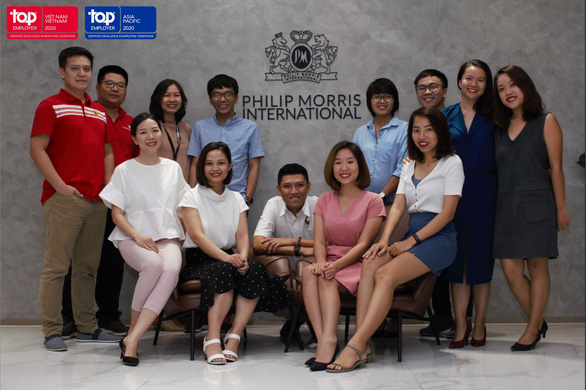 PMI liên tiếp đạt danh hiệu 'Nhà tuyển dụng hàng đầu toàn cầu' - Ảnh 2.