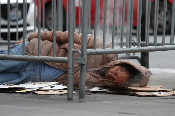 California là bang có nhiều người vô gia cư nhất nước Mỹ - Ảnh 1.
