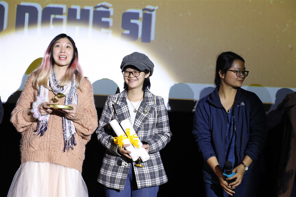 Giải thưởng điện ảnh Búp sen vàng: Ngõ nghệ sĩ lập hat-trick - Ảnh 1.