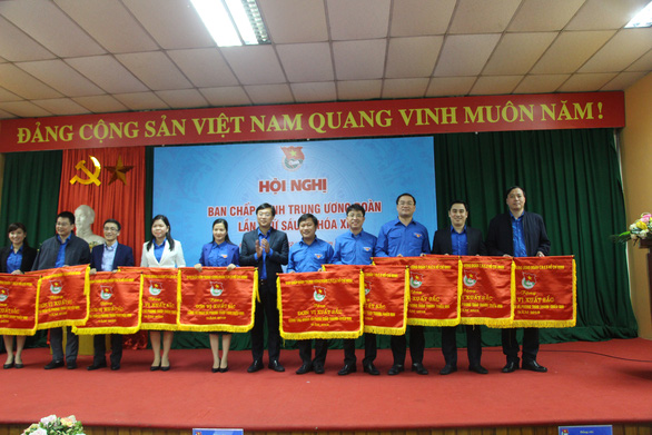Thành đoàn TP.HCM nhận cờ thi đua xuất sắc của Trung ương Đoàn - Ảnh 1.