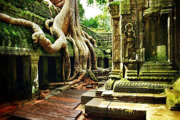 Đến Campuchia thăm thành phố cổ nghìn năm Mahendraparvata - Ảnh 3.