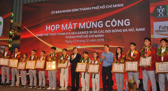 TP.HCM vinh danh vận động viên thành tích cao tại SEA Games 30 - Ảnh 1.