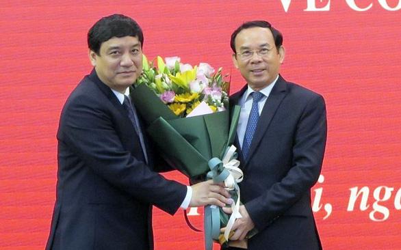 Ông Nguyễn Đắc Vinh giữ chức phó chánh Văn phòng Trung ương Đảng - Ảnh 1.