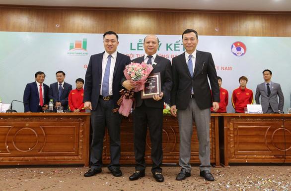 Hưng Thịnh Land tài trợ cho bóng đá nữ Việt Nam 100 tỉ đồng - Ảnh 2.