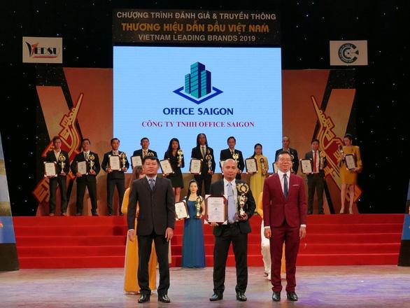 Office Saigon đạt Top 10 thương hiệu dẫn đầu Việt Nam 2019 - Ảnh 1.