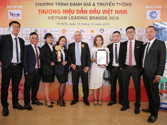 Office Saigon đạt Top 10 thương hiệu dẫn đầu Việt Nam 2019 - Ảnh 2.