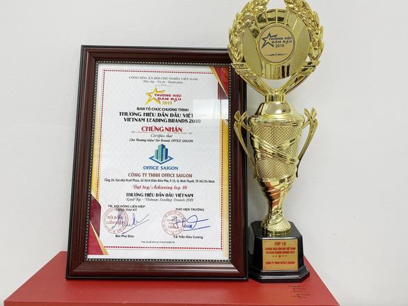 Office Saigon đạt Top 10 thương hiệu dẫn đầu Việt Nam 2019 - Ảnh 3.