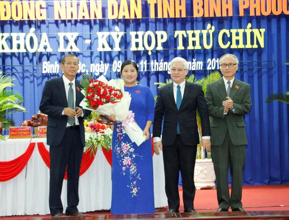Thủ tướng phê chuẩn bà Trần Tuệ Hiền giữ chức chủ tịch UBND tỉnh Bình Phước - Ảnh 1.