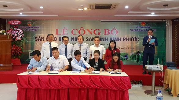 Khai trương sàn giao dịch nông sản tại Bình Phước - Ảnh 2.