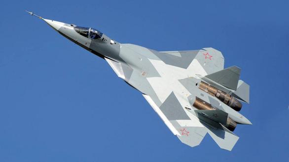 Chiến đấu cơ tàng hình Su-57 của Nga rơi khi bay thử - Ảnh 1.