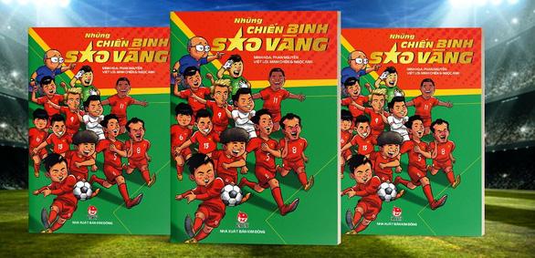 Những chiến binh sao vàng: Xem ông Park, Văn Hậu, Tiến Linh, Lâm Tây qua nét vẽ chibi - Ảnh 1.
