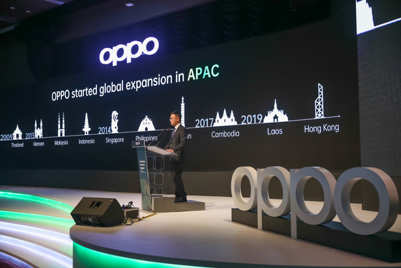 OPPO đầu tư 7 tỉ USD phát triển thị trường châu Á, có Việt Nam - Ảnh 1.