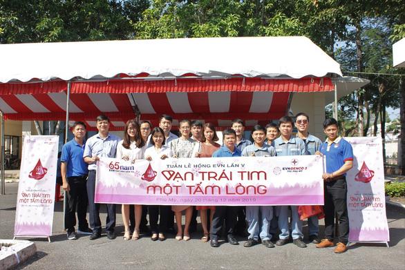 Công ty Nhiệt điện Phú Mỹ hưởng ứng phong trào Tuần Lễ Hồng EVN lần V - Ảnh 2.
