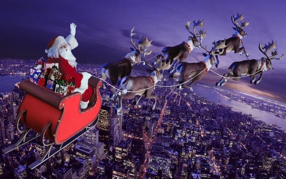 Ông già Noel bắt đầu cưỡi tuần lộc đi phát quà... khởi hành từ Phần Lan - Ảnh 1.