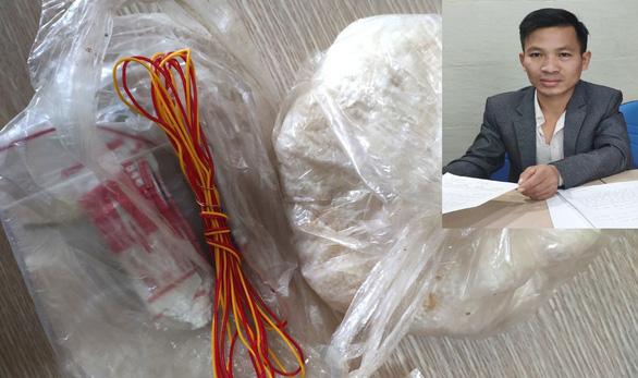 Khởi tố nam thanh niên mang chất nổ trong hành lý vào sân bay Thọ Xuân - Ảnh 1.