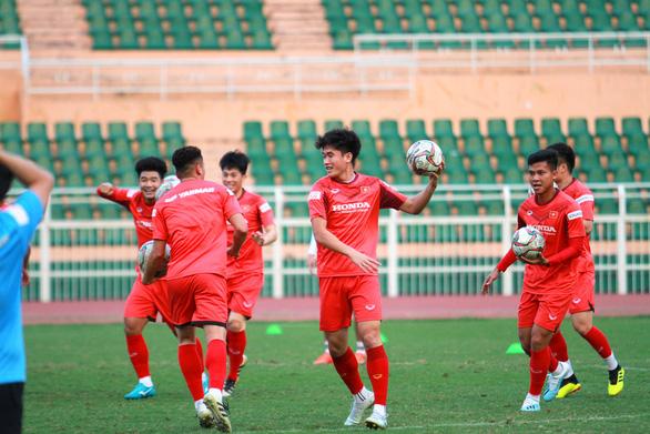 HLV Park Hang Seo: 'Có những rủi ro khi U23 Việt Nam thiếu Văn Hậu' - Ảnh 1.