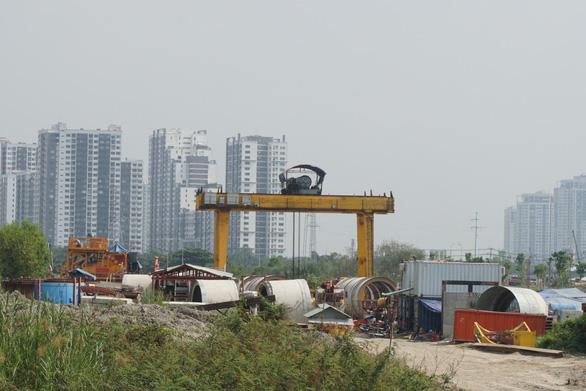Gói thầu dự án vệ sinh môi trường TP.HCM chậm tiến độ, chủ đầu tư dọa cắt hợp đồng - Ảnh 1.