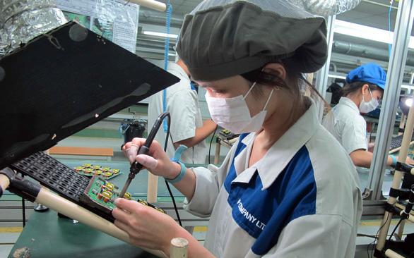 Ngành chế biến chế tạo lần đầu xuất siêu 100 triệu USD - Ảnh 1.