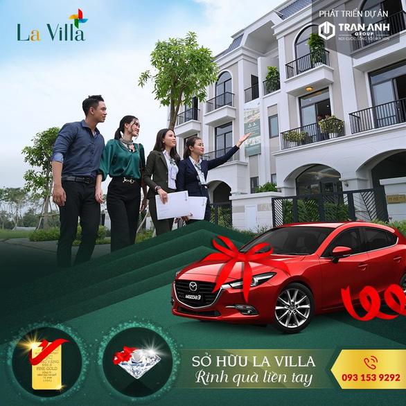 Mua La Villa Green City trúng ngay Mazda 3 - Ảnh 1.