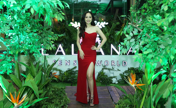 Mai Phương Thuý dự ra mắt L'Alyana Senses World Phú Quốc - Ảnh 1.