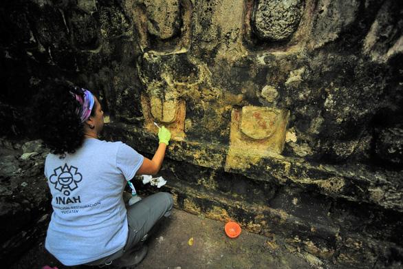 Phát hiện dinh thự cổ của người Maya có niên đại hơn 1.000 năm ở Mexico - Ảnh 1.