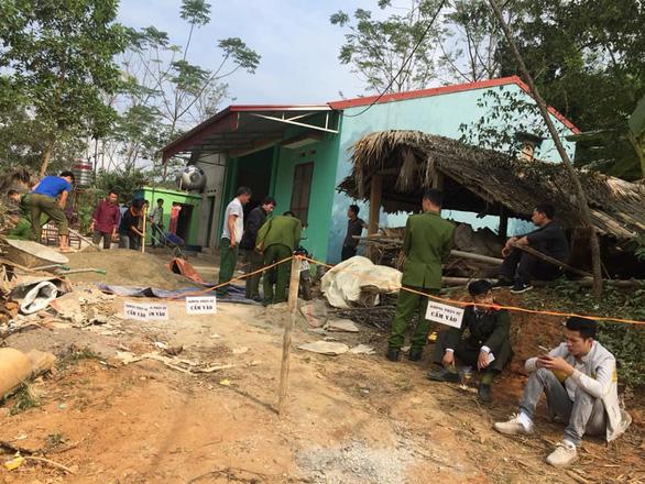 Khởi tố kẻ giết vợ và chém chết 4 người cùng thôn ở Thái Nguyên - Ảnh 2.