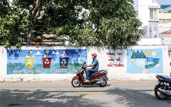 Biến những bức tường cũ thành tác phẩm nghệ thuật bảo vệ môi trường - Ảnh 7.