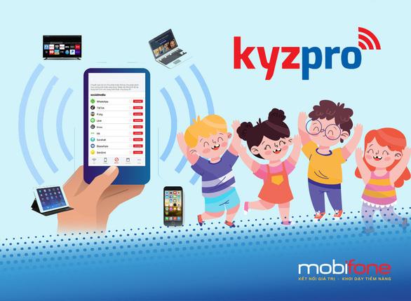 Kyzpro - giải pháp quản lý con dùng Internet hiệu quả - Ảnh 1.