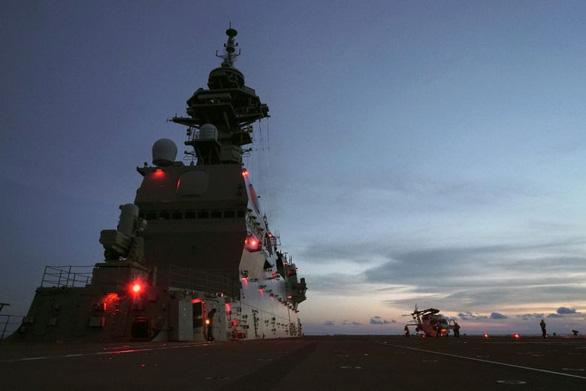 Nhật đưa tàu khu trục đến Trung Đông - Ảnh 1.