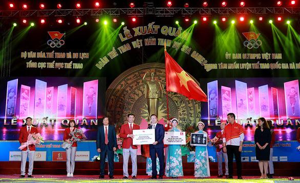 Herbalife Nutrition và VOC tổ chức Lễ xuất quân cho Đoàn Thể thao Việt Nam tham dự SEA Games 30 - Ảnh 1.